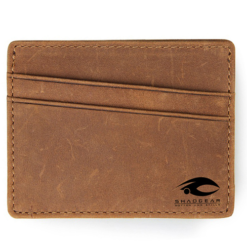 Leather Thin Credit Card Holder