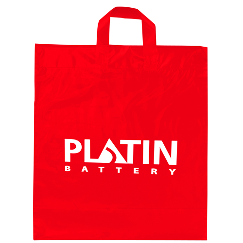 Soft Loop Shopper Plastic Bag