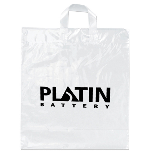 Soft Loop Shopper Plastic Bag Image 1