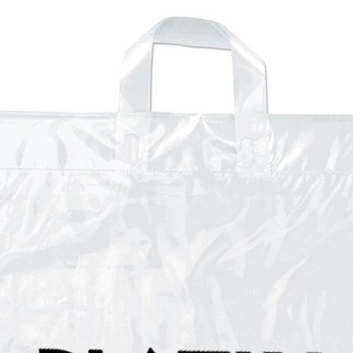 Soft Loop Shopper Plastic Bag Image 2
