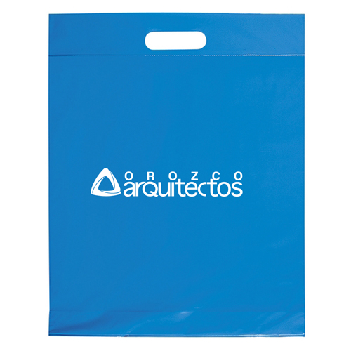 Die Cut Handle Shopping Plastic Bag Image 1