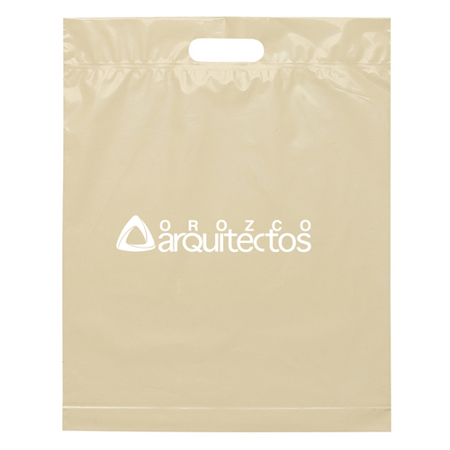 Die Cut Handle Shopping Plastic Bag Image 2