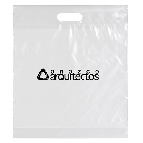 Die Cut Handle Shopping Plastic Bag Image 4