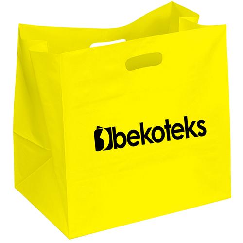 Wide Plastic Carry Bag
