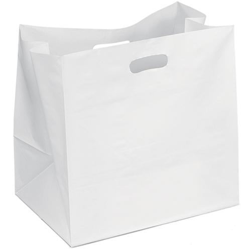 Wide Plastic Carry Bag Image 1