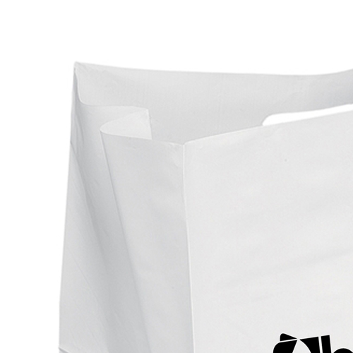 Wide Plastic Carry Bag Image 3