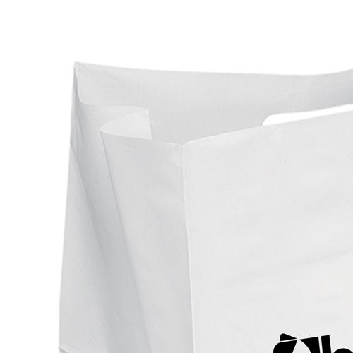 Wide Plastic Carry Bag Image 3