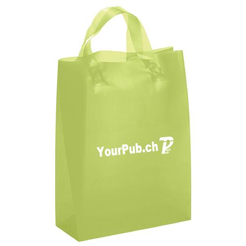Frosted Brite Loop Handles Bag Image 3