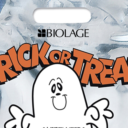 Reflective Halloween Ghost Candy Plastic Bag Image 3