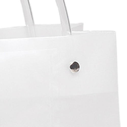 Shopper Plastic Tote Bag Image 4