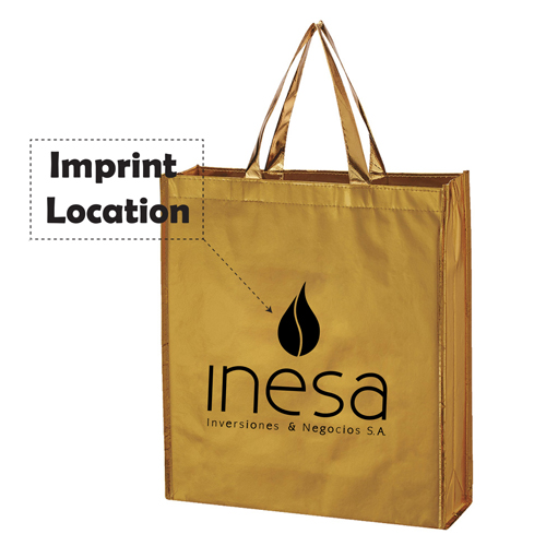 Non Woven Waterproof Shopper Tote Bag Imprint Image