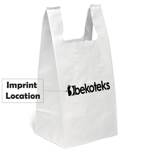 Plastic Bag of Large Bottom Imprint Image