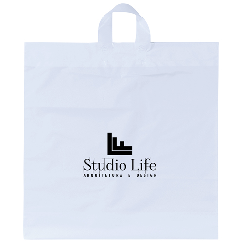 Soft Loop Shopper Simple Plastic Bag