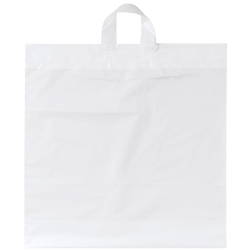 Soft Loop Shopper Simple Plastic Bag Image 1