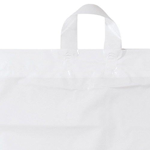 Soft Loop Shopper Simple Plastic Bag Image 2