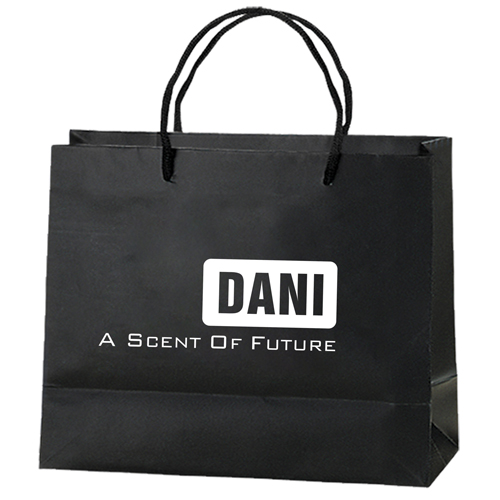 Personalized Matte Shopping Paper Bags Image 3