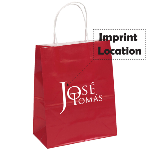 Customized Promotional Paper Bags Imprint Image
