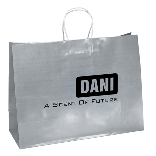 Promotional Custom Shopping Paper Bags Image 2