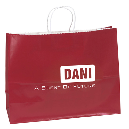 Promotional Custom Shopping Paper Bags Image 3