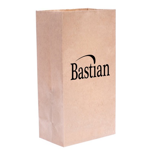 Flat Bottom Food Paper Bags Image 2