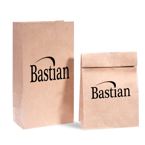 Flat Bottom Food Paper Bags Image 3