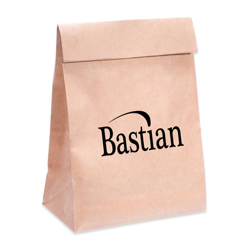 Flat Bottom Food Paper Bags Image 4