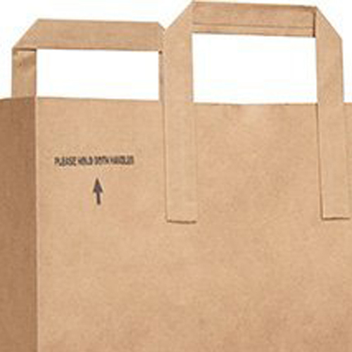 Kraft Paper Duro Handle Bag Image 1