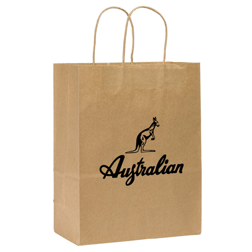 Kraft Paper Duro Shopping Bag