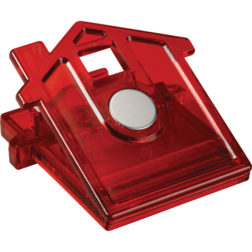 House Magnetic Memo Clip With Adhesive Notes Image 1