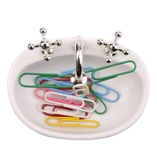 Sink Design Magnetic Paper Clip Dispenser Image 2