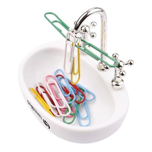 Sink Design Magnetic Paper Clip Dispenser Image 3