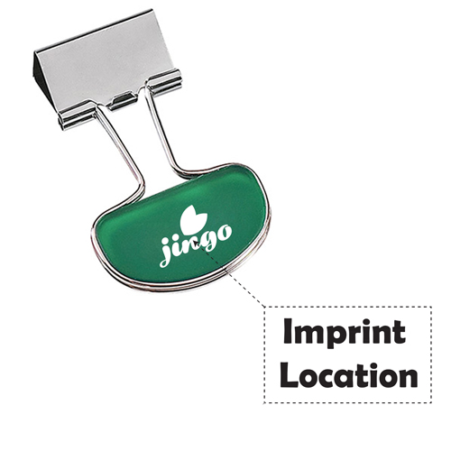 Durable Binder Flip Clip Imprint Image