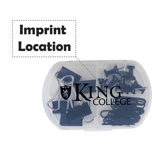 Mini 33 Piece Paper Clip Office Kit Imprint Image