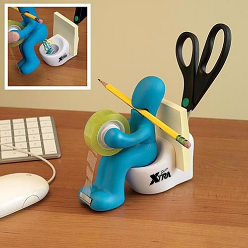Closestool Shape Multifunctional Clip Dispenser Image 3