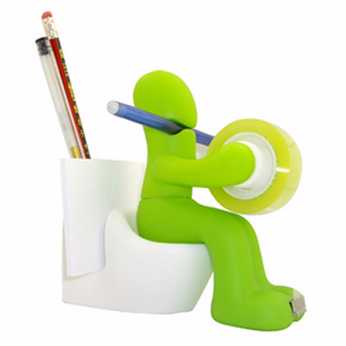 Closestool Shape Multifunctional Clip Dispenser Image 5