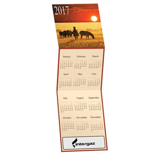 Unique Tri-Fold Calendar Image 1