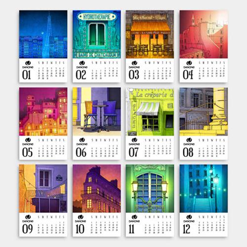 Mini Desk Calendar Image 1