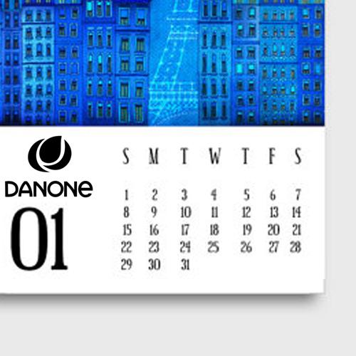 Mini Desk Calendar Image 2