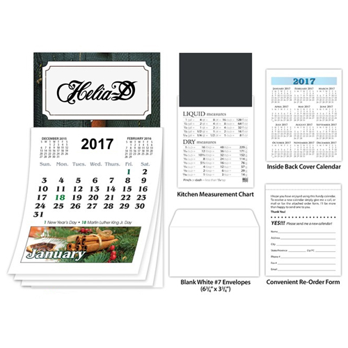 Business Card Magnet Calendar Image 1