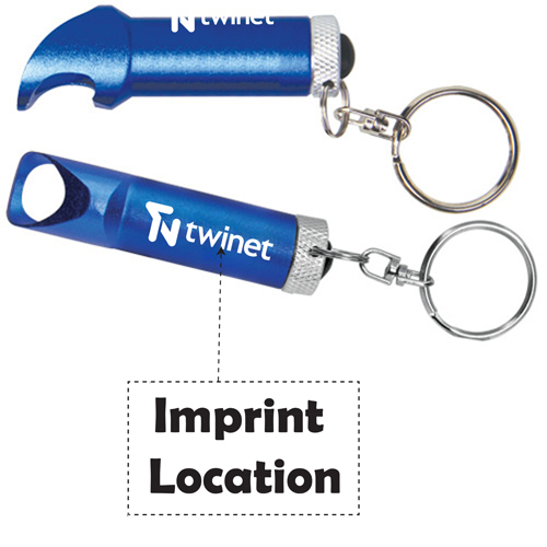 Bottle Opener LED Keytag Imprint Image