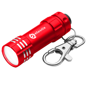Aluminum Pocket Size LED Keychain