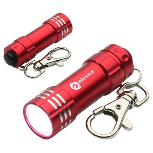 Aluminum Pocket Size LED Keychain Image 1