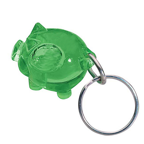 Promotional Piggy Key Chain Image 3
