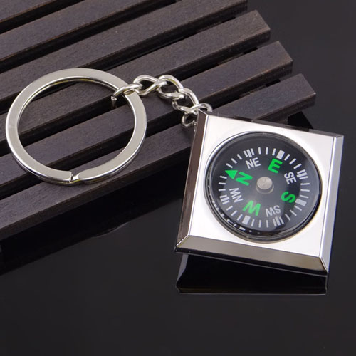 Waterproof Magnetic Compass Keychain Image 4