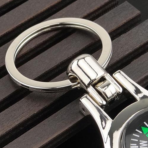 Multifunctional Compass Keychain Image 2