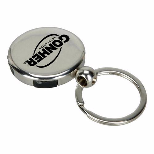 Mini Portable Compass Keychain Image 3