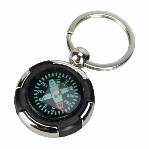 Mini Portable Compass Keychain Image 4