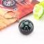 Acrylic Crystal Ball Compass Keychain Image 1