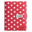 White Dot Candy Girl Notebook Diary Image 4