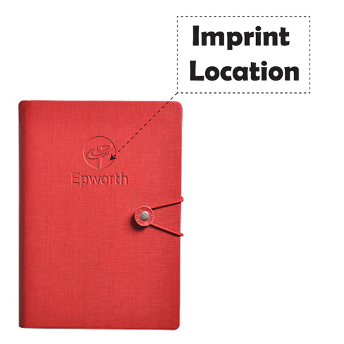 Creative Rubber Vintage Notebook  Imprint Image